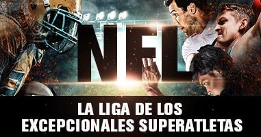 NFL – La Liga de los excepcionales superatletas