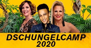 Dschungelcamp 2020 – Dschungelfieber bei Interwetten!