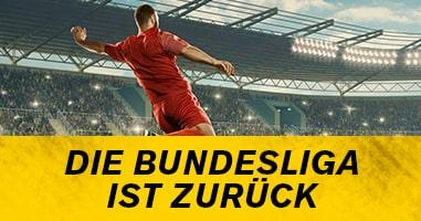 Die Deutsche Bundesliga ist zurück