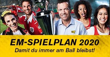 EM-Spielplan 2020 - damit du kein Spiel verpasst!